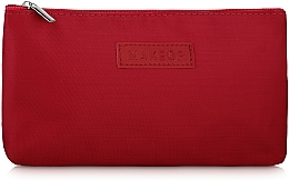 "Fragrances, Perfumes, Cosmetics Flat Makeup Bag, red ""Girl's Travel"" - MakeUp"