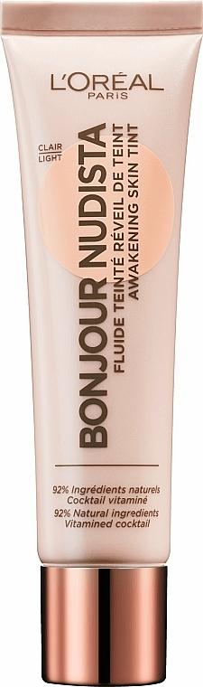 Facial Tinting BB Fluid - L'Oreal Paris Bonjour Nudista Cream BB