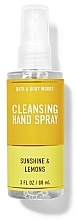 Fragrances, Perfumes, Cosmetics Cleansing Hand Spray - Bath And Body Works Cleansing Hand Spray Sunshine and Lemons