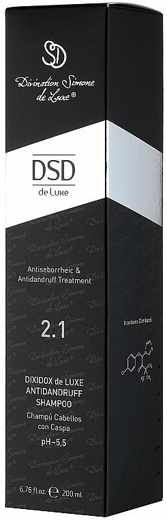 Dixidox DeLuxe Anti-Dandruff Shampoo #2. - Divination Simone De Luxe Dixidox DeLuxe Antidandruff Shampoo — photo N3