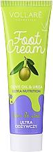 Fragrances, Perfumes, Cosmetics Foot Cream - Vollare Cosmetics De Luxe Ultra Nutrition Oile&Urea Foot Cream