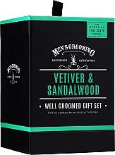 Fragrances, Perfumes, Cosmetics Scottish Fine Soaps Men's Grooming Vetiver & Sandalwood - Set (edt/50ml + sh/gel/75ml + ash/balm/75ml)