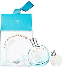 Fragrances, Perfumes, Cosmetics Hermes Eau des Merveilles Bleue - Set (edt/50ml + edt/7.5ml)