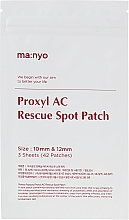 Fragrances, Perfumes, Cosmetics Spot Patch - Manyo Factory Proxyl AC Rescue Spot Patch