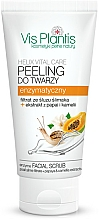 Fragrances, Perfumes, Cosmetics Enzyme Face Peeling - Vis Plantis Helix Vital Care Enzyme Facial Scrub