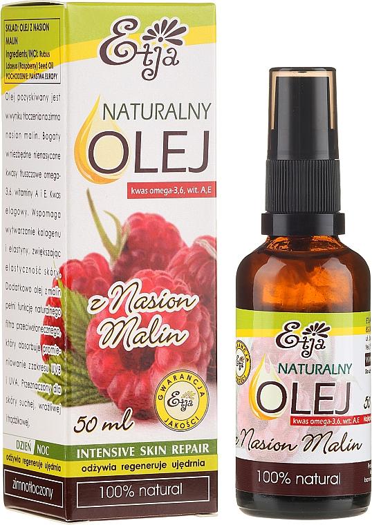 Natural Raspberry Seed Oil - Etja Natural Raspberry Seed Oil
