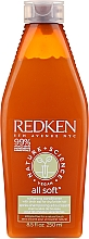 Fragrances, Perfumes, Cosmetics Softening Hair Conditioner - Redken Nature + Science All Soft Softening Conditioner