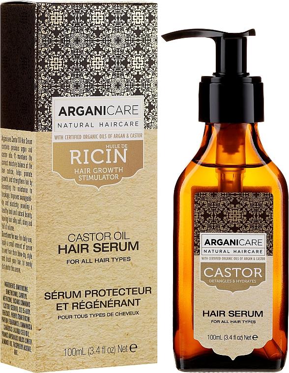 Hair Growth Serum - Arganicare Castor Oil Hair Serum