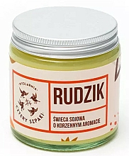 "Fragrances, Perfumes, Cosmetics Scented Candle ""Robin"" - Cztery Szpaki"