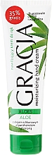 Fragrances, Perfumes, Cosmetics Moisturizing Aloe Extract Hand Cream - Gracja Aloe Hand Cream