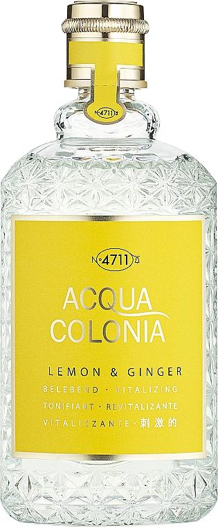 Maurer & Wirtz 4711 Aqua Colognia Lemon & Ginger - Eau de Cologne