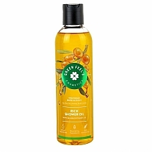 "Fragrances, Perfumes, Cosmetics Shower Oil ""Sea Buckthorn"" - Green Feel's Rich Shower Oil"