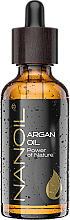 Fragrances, Perfumes, Cosmetics Argan Oil - Nanoil Body Face and Hair Argan Oil