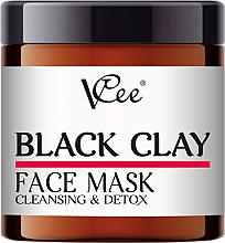 Fragrances, Perfumes, Cosmetics Black Clay Face Mask - VCee Black Clay Face Mask Cleansing&Detox