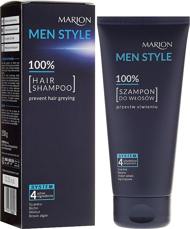 Shampoo for Men - Marion Men Style Shampoo Against Greying