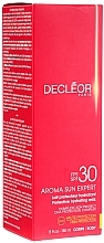 Fragrances, Perfumes, Cosmetics Moisturizing Protective Body Milk SPF30 - Decleor Aroma Sun Expert Protective Hydrating Milk SPF30