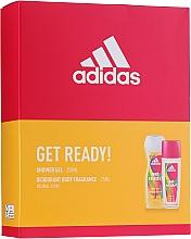 Fragrances, Perfumes, Cosmetics Adidas Get Ready! For Her - Set (deo/sp/75ml +sh/gel/250ml)