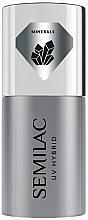 Fragrances, Perfumes, Cosmetics Gel Polish Base Coat - Semilac UV Hybrid Mineral Strong Base