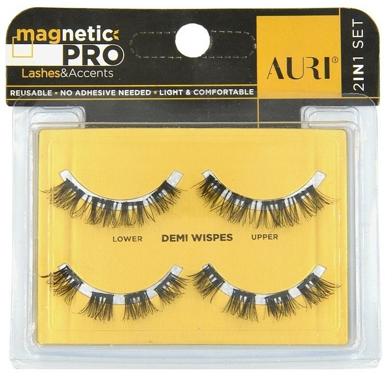 Magnetic False Lashes - Auri Magnetic Pro Demi Wispies