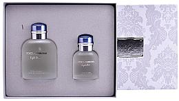 Fragrances, Perfumes, Cosmetics Dolce&Gabbana Light Blue pour Homme - Set (edt/125ml + edt/40ml)