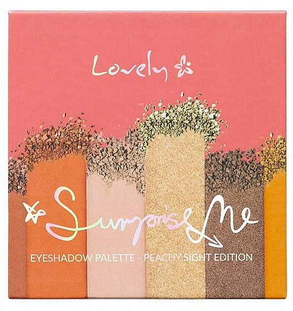 Shadow Palette - Lovely Surprise Me Eyeshadow Palette Peachy Sight Edition