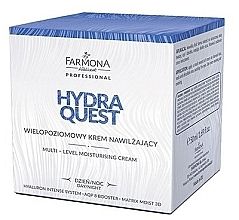 Fragrances, Perfumes, Cosmetics Multi-Layered Moisturizing Day and Night Cream - Farmona Hydra Quest Cream