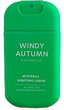 Fragrances, Perfumes, Cosmetics Virucidal Watermelon Hand Spray - HiSkin Antibac Hand Spray Windy Autumn