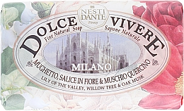 "Fragrances, Perfumes, Cosmetics Soap ""Milano"" - Nesti Dante Dolce Vivere Milano"