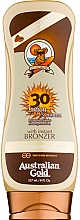 Fragrances, Perfumes, Cosmetics Bronzer Lotion - Australian Gold Lotion With Instant Bronzer Spf30