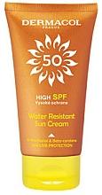 Fragrances, Perfumes, Cosmetics Waterproof Sunscreen Cream - Dermacol Sun Water Resistant Cream SPF50