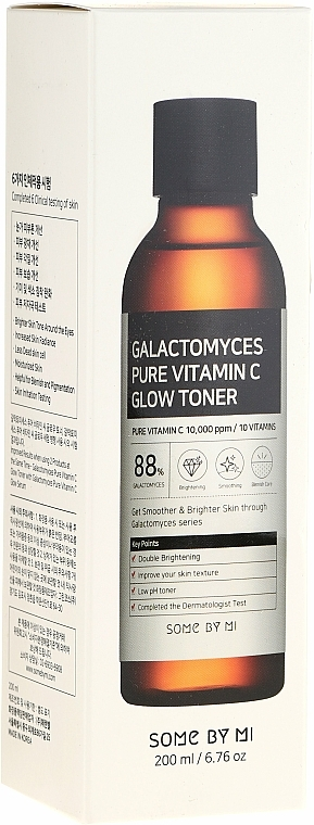 Galactomyces and Pure Vitamin C Toner - Some By Mi Galactomyces Pure Vitamin C Glow Toner