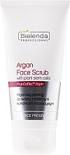 Fragrances, Perfumes, Cosmetics Face Scrub with Plant Stem Cells - Bielenda Professional Face Program Argan Face Scrub