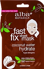 Fragrances, Perfumes, Cosmetics Moisturizing Coconut Face Mask - Alba Botanica Fast Fix Coconut Hydrate Sheet Mask