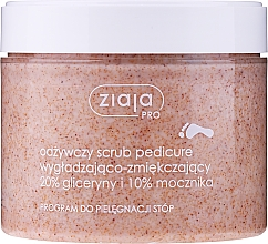 Fragrances, Perfumes, Cosmetics Smoothing & Softening Pedicure Scrub - Ziaja Pro Scrub Pedicure