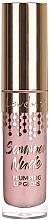 Fragrances, Perfumes, Cosmetics Plumping Lip Gloss - Lovely Summer Nude Plumping Lip Gloss