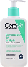 Fragrances, Perfumes, Cosmetics Face & Body Cleansing Gel for Normal & Oily Skin - CeraVe Foaming Cleanser