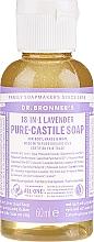 "Fragrances, Perfumes, Cosmetics Liquid Soap ""Lavender"" - Dr. Bronner's 18-in-1 Pure Castile Soap Lavender"