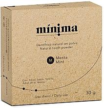 Fragrances, Perfumes, Cosmetics Natural Tooth Powder - Minima Organics Natural Tooth Powder