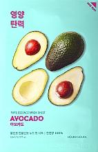 Fragrances, Perfumes, Cosmetics Softening Avocado Face Sheet Mask - Holika Holika Pure Essence Mask Sheet Avocado
