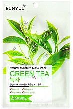 Fragrances, Perfumes, Cosmetics Moisturizing Green Tea Sheet Mask - Eunyul Natural Moisture Mask Pack Green Tea