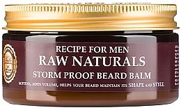 Fragrances, Perfumes, Cosmetics Balm for Beards - Recipe For Men RAW Naturals Storm Proof Beard Balm