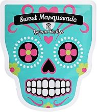Fragrances, Perfumes, Cosmetics Facial Sheet Mask - Dr Mola Sweet Masquarade Green Fruits mask