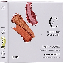 "Fragrances, Perfumes, Cosmetics Compact Blush ""Perfection"" - Couleur Caramel Blush Powder"