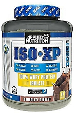 Fragrances, Perfumes, Cosmetics Whey Protein Isolate with Chocolate Dessert Taste - Applied Nutrition ISO XP Chocolate Dessert
