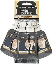 Fragrances, Perfumes, Cosmetics Car Air Freshener Set - Yankee Candle Car Jar Midsummers Night