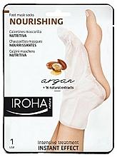 Fragrances, Perfumes, Cosmetics Foot Mask - Iroha Nature Nourishing Argan Socks Foot Mask