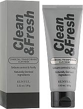 Fragrances, Perfumes, Cosmetics Charcoal Clay Mask-Transformer - Eunyul Clean & Fresh Charcoal Transforming Clay Mask