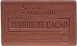Fragrances, Perfumes, Cosmetics Cocoa Butter Soap - Le Chatelard 1802 Savon de Marseille Cocoa Butter Soap