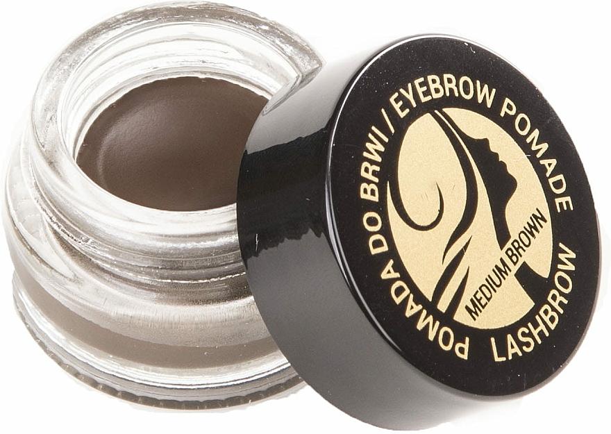 Set - Lash Brown Morning Beautiful (brow soap/50g + brow oil/6ml + eyebrow pomade/7g + brush/3pcs) — photo N5