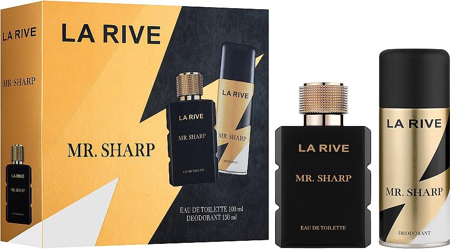 La Rive Mr. Sharp - Set (edt/100ml + deo/150ml)